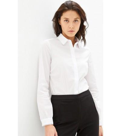 Camisa Blanca Cuello y Puño...