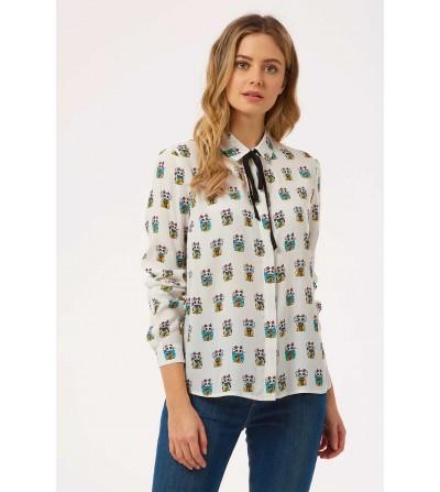 Camisa Lucky Cat