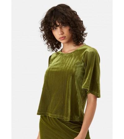 Top Velvet Verde