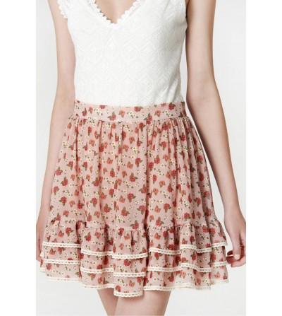 Mini Falda Flores Summer