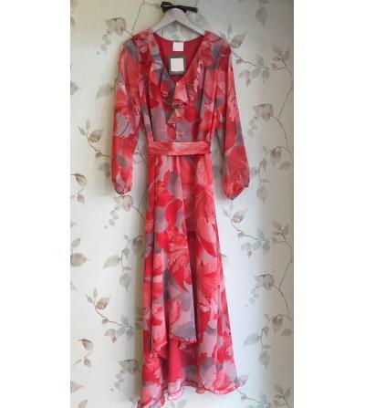 Vestido Largo Rojo...
