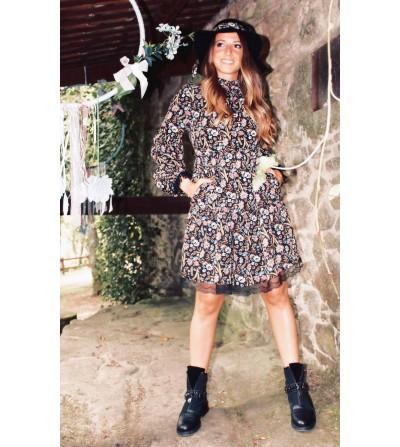 Vestido Flores Norah