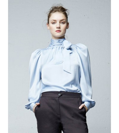 Blusa Azul Lavanda