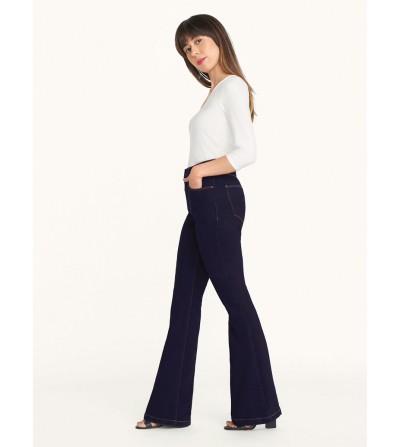 Jeans Campana Azul Oscuro