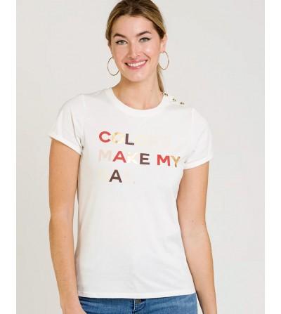 Camiseta Texto Frontal