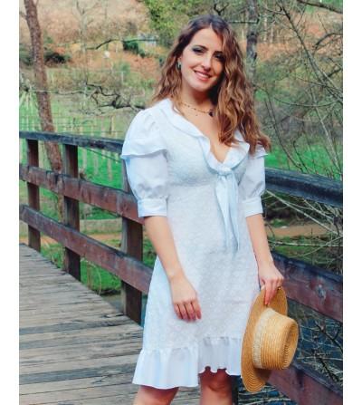 Vestido Blanco Arlette