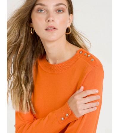 Jersey de Punto Naranja