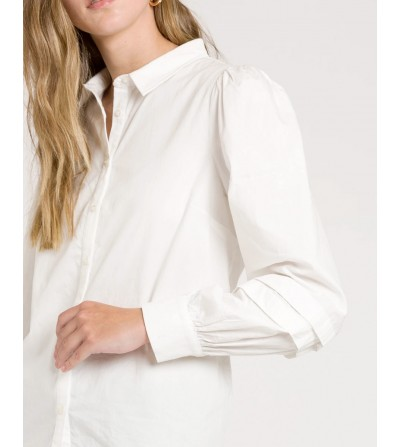Camisa Mangas Abullonadas