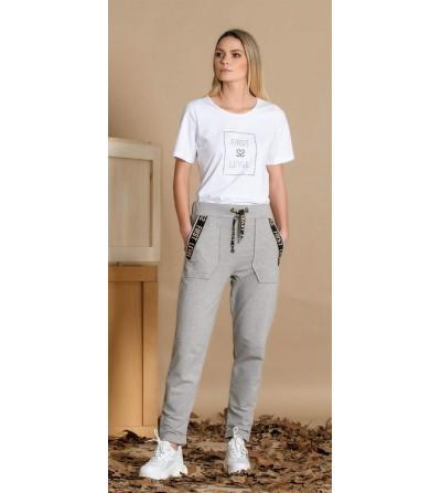 Pantalón Jogger Cinta Texto