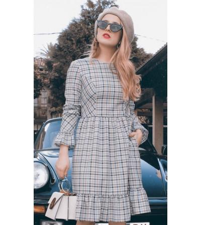 Vestido Cuadros Vichy Astrid